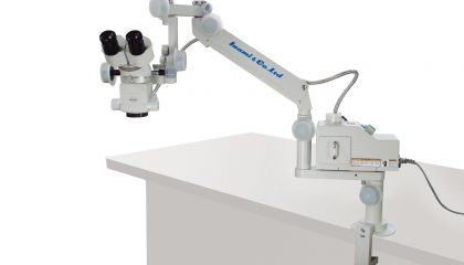 Portable Zoom Operation Microscope